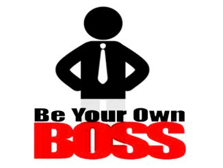 own boss