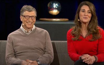 Bill & Melinda Gates 27 වසරක විවාහ දිවියට සමු දෙයි !